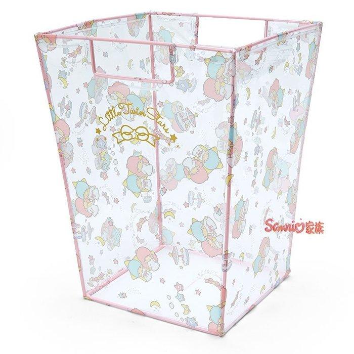 《東京家族》日本 三麗鷗 kikilala雙子星 透明 收納桶 儲物箱 置物箱
