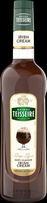 Teisseire 糖漿果露-愛爾蘭風味 Irish Cream 法國頂級天然糖漿 700ml-【良鎂咖啡精品館】