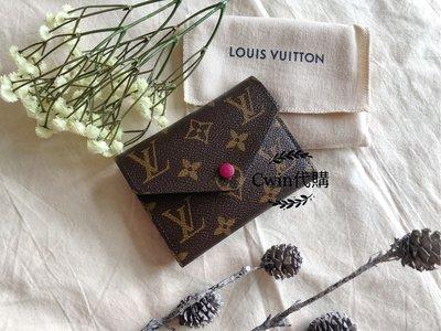 Louis Vuitton VICTORINE 經典老花logo短夾 錢包M41938