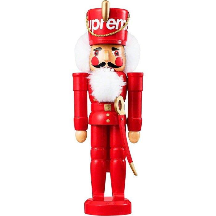 【紐約范特西】預購 Supreme FW19 Nutcracker 木製 胡桃鉗娃娃