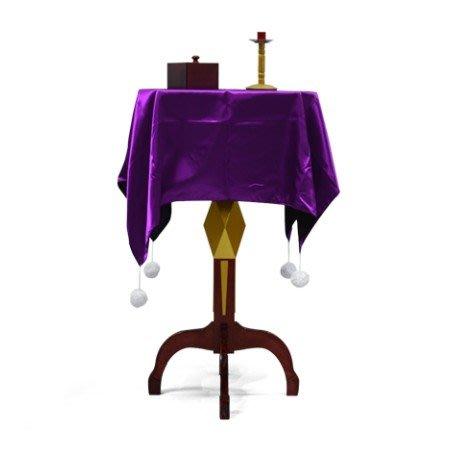 【天天魔法】【1779】浮桌(多功能大漂浮桌)(送反重力小木盒和大燭台)(菱形)