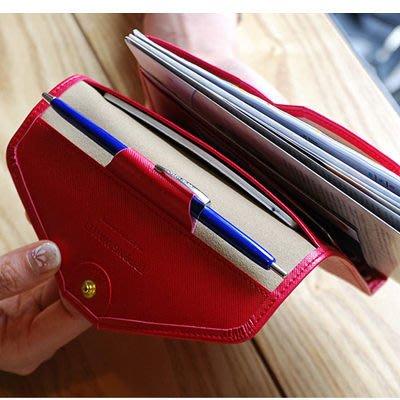 (全館一件免運費)中短夾 多功能短款卡包護照 證件旅行包(X-311)
