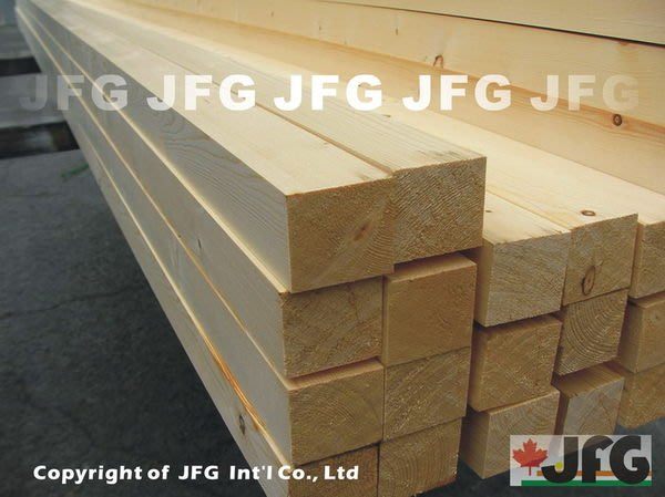 JFG 木材批發 *【SPF松木細刨角材】34x38mm 欄杆 木工DIY 木板 木材加工 木條 裝潢 原木 木屋