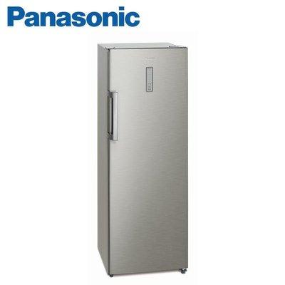 【內文有優惠價格】Panasonic 國際牌 242公升 4星級冷凍能力 直立式冷凍櫃 《NR-FZ250A-S》