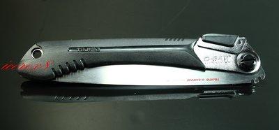 TAJIMA G-SAW系列折鋸 三倍速GK-G240 黑銀色 含日本原廠鋸片 更勝Silky折疊鋸 木工水電最愛