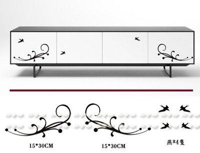 《S空間》壁貼╭☆S180歐式邊框☆╯設計師摩登時尚樣款 套房民宿 玻璃櫥窗防水貼紙 家電家具家飾 行李箱 汽機車 壁紙