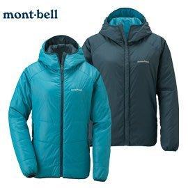 丹大戶外 日本【mont-bell】THERMAWRAP 女款雙面外套 1101410 PB-DM 雀藍/藍
