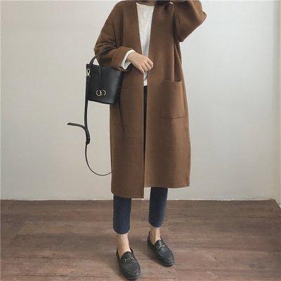 【UBY】不買會後悔!厚實保暖V領毛衣外套 ◄No10118