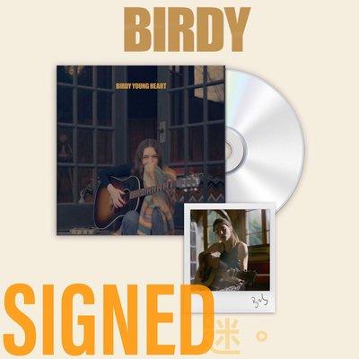 迷俱樂部 Young Heart 簽名專輯 [CD] Birdy 柏蒂 親筆簽名 SIGNED 西洋