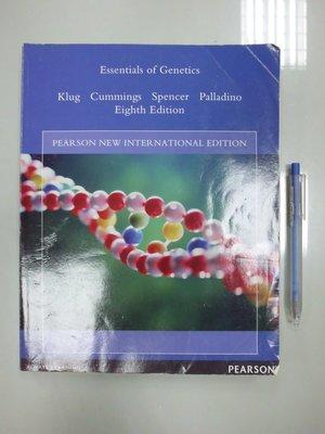 D4-5cd☆2011年出版『Essentials of Genetics 8/e』Klug《PEARSON》