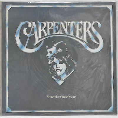 Carpenters Yesterday Once More 2X黑膠品項優 609900000534 再生工場YR20