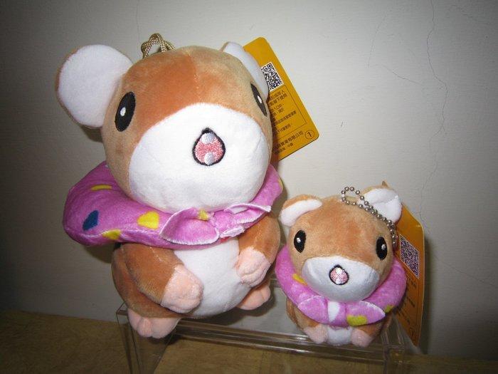 ///可愛娃娃///~7吋可愛的旅行青蛙的朋友老鼠絨毛娃娃~小老鼠---約17公分
