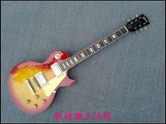 【凱迪豬生活館】-輕音少女平澤唯 小唯款 吉普森Gibson standard 日落色LP電吉他KTZ-201032