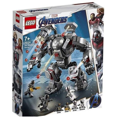 【鄭姐的店】樂高 76124 SUPER HEROES 系列 - War Machine Buster