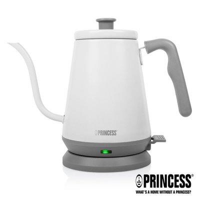 【歐風家電館】PRINCESS 荷蘭公主0.8L 手沖咖啡 細口壺 / 快煮壺 236037 (冰山白/新品上市)