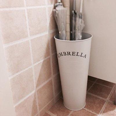 雨傘桶家用 歐式現代時尚簡約家居鐵藝辦公雨傘架 創意雨傘收納桶yi   全館免運
