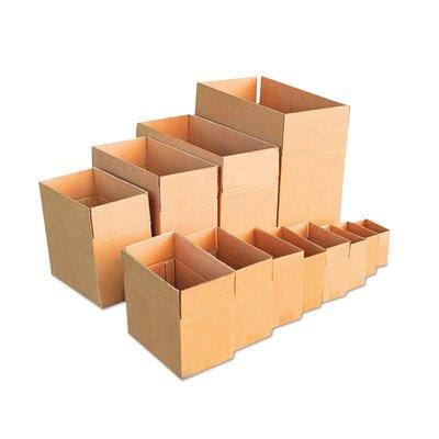 爆款熱銷-紙箱包裝盒3層5層搬家紙箱快遞打包箱包裝紙箱紙飛機盒子12號
