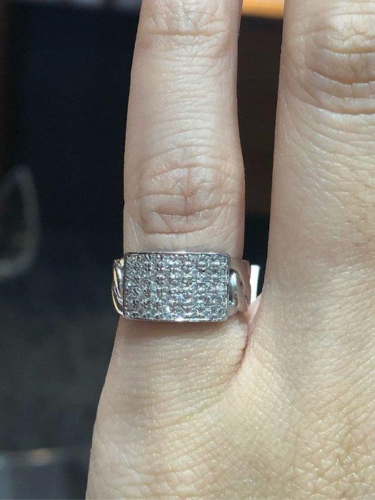 40分天然鑽石豪華尾戒,霸氣豪華款式,也適用中指無名指,鑽石白火光閃亮,滿天星鑽石款式,超值優惠價16800