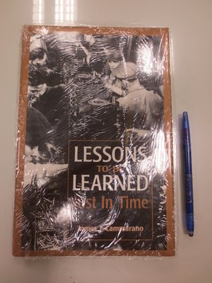 A15-2cd☆~全新未拆~『Lessons to be Learned Just in Time』《EMP》~精裝~