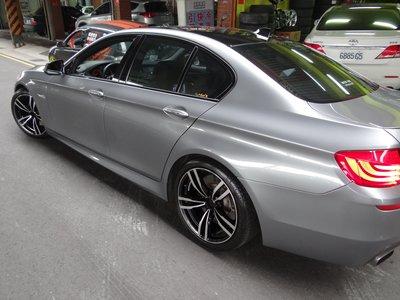 {順加輪胎}實裝圖 類BMW M4 19吋5孔120 前後配 E90 E92 E93 335i F10 F11 535