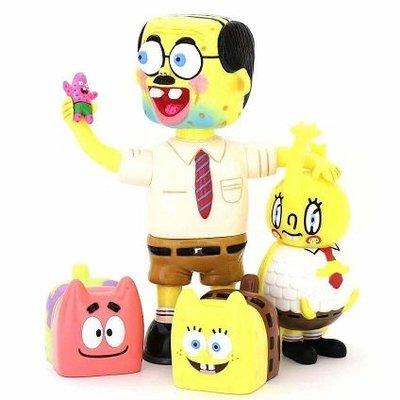 Spongebob squarepants dehara unbox 海綿寶寶 現貨