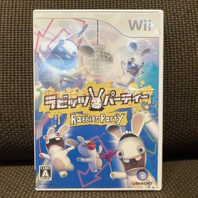 滿千免運開發票 Wii 雷曼兔 瘋狂兔子 雷射超人 Rayman Raving Rabbids 1 V003