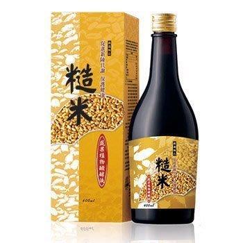 大漢酵素 糙米蔬果植物醱酵液600ml *6罐