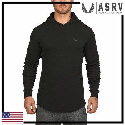 瘋狂金剛▸ 黑 ASRV CottonPlus™ All Season Hoodie 全季節適合棉質連帽衫 運動 健身