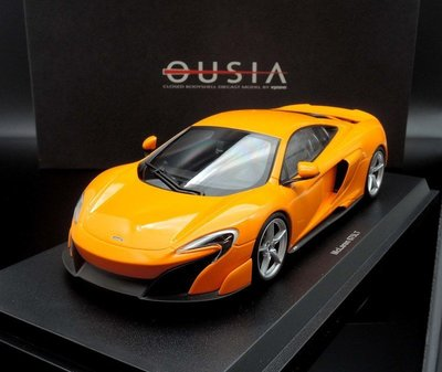 【MASH】現貨特價 Kyosho 1/18 McLaren 675LT orange