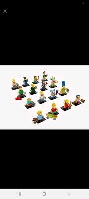 Lego 71005 Minifigure 1套16隻
