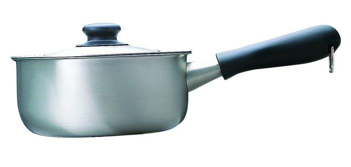 【JPGO】宅配限定!日本進口 柳宗理 不鏽鋼片手鍋 單手鍋~18CM #156