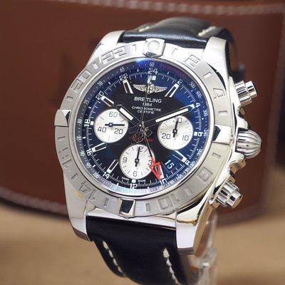 Breitling 百年靈 Chronomat 44mm 兩地時間 GMT AB042011 B04機芯 2019公司貨