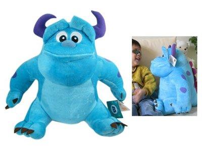 【卡漫迷】怪獸電力公司 絨毛娃娃 ㊣版 玩偶 Sulley 毛怪 約43cm 短毛款 (L) ~4 9 9元