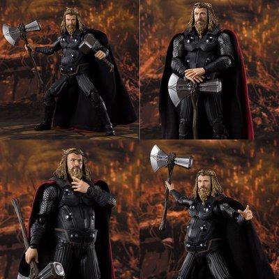 日版 shf 肥雷神 thor end game marvel avengers hottoys hot toys iron man mafex
