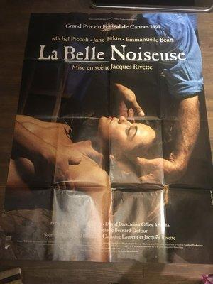 美麗壞女人-La belle noiseuse (1991)(摺式)原版法大版海報