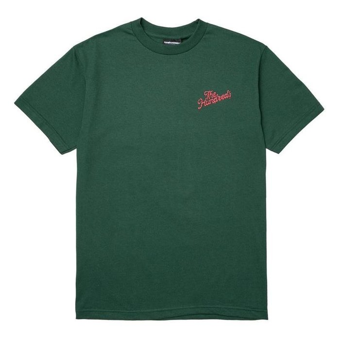 THE HUNDREDS OOZE SLANT 短袖T-SHIRT - 綠色【HOPES】