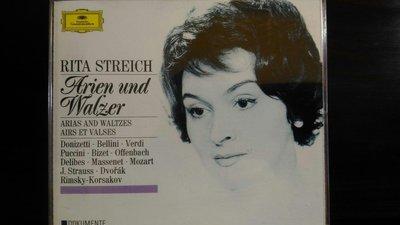 Rita Streich-Arien Und Walzer cd,麗塔史翠席-詠嘆調與華爾滋,2CD,片況佳。