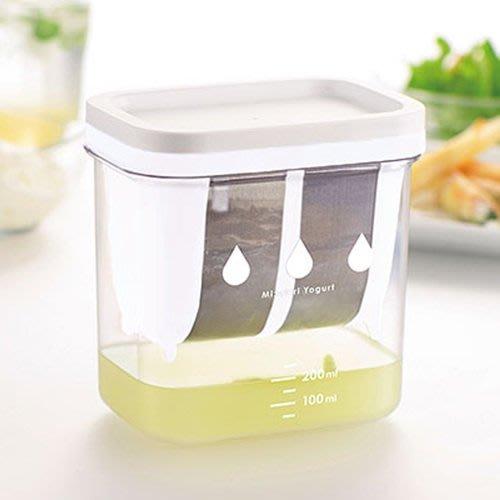 優格瀝水容器 H&B C-8531 濃厚 水切優格盒過濾器 新款 DIY 日本製 LUCI日本代購