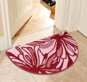 ❀蘇蘇 館❀多色  簡約臥室地墊腳墊半圓門墊 廚房地毯 衛生間吸水防滑墊