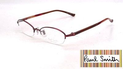 【本閣】Paul Smith PS9148 日本手工眼鏡超輕純鈦小框 男女半框光學眼鏡 999.9 tony same