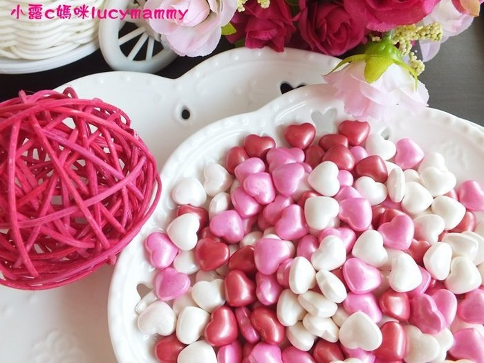 小露c媽咪 加拿大3LSprinkles 食用糖珠LM0013 50g 情人節款糖片/食用糖珠/裝飾糖珠/彩色糖珠