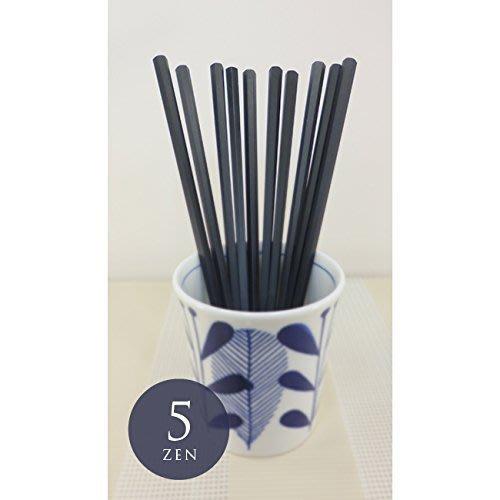 【東京速購】日本製 耐熱 黑色 六角 筷子 隨身筷 一組10入(五雙)