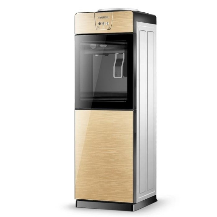 220V  現代飲水機立式冷熱辦公室冰溫熱水機家用玻璃節能制冷開水機YXS