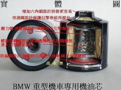 【CKM部品】BMW 重機 重型機車 機油蕊 機油芯 機油濾清器! 台灣製 KN-163 0W50 2.5W60