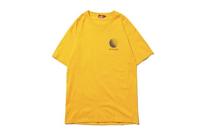 "[ LAB Taipei ] HELLRAZOR "" LOGO SHIRT "" (Gold)"