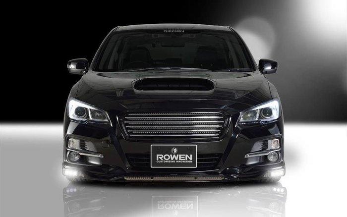Subaru 速霸陸 Levorg VM4 日本 Rowen 尾翼 大包 擾流