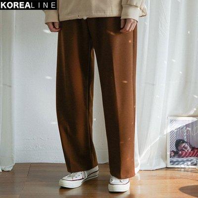 KOREALINE搖滾星球 / 抽繩休閒寬褲 / 3色 EF993789