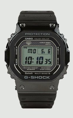 CASIO G-SHOCK 35週年 35th 手錶 紀念錶 GMW B5000G 白面 日本製 黑色
