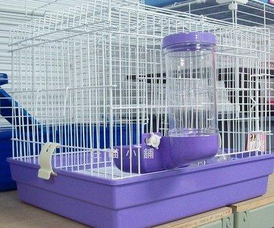☆汪喵小舖2店☆兔專區-中兔籠、一尺半兔籠 745A // 附飼料架、飲水頭