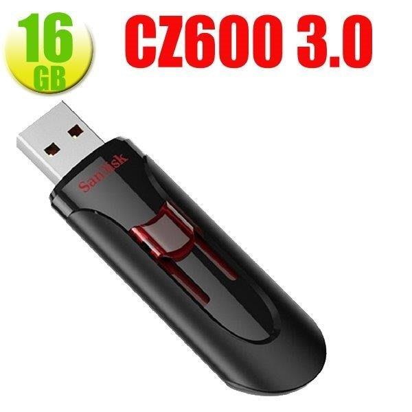 Sandisk 新帝 Curzer Glide CZ600 16G 16GB USB3.0 隨身碟 伸縮碟